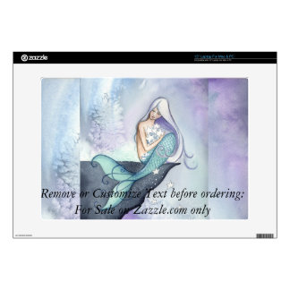 Making Wishes Mermaid Laptop Skin Camille Grimshaw