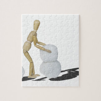 MakingSnowmanTwoPieces101115.png Jigsaw Puzzle