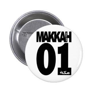 Makkah 01 pin redondo de 2 pulgadas