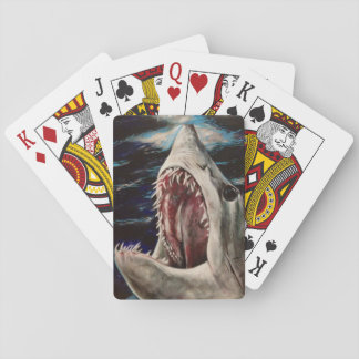 Mako Shark Painting Playing Cards