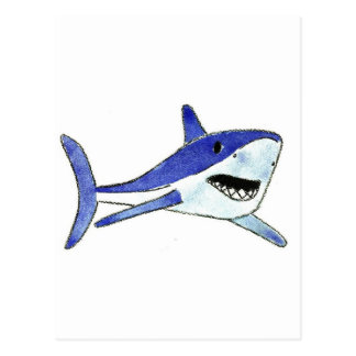Mako Shark Postcard