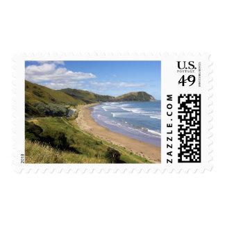 Makorori Beach near Gisborne, Eastland, New Postage Stamp