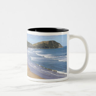 Makorori Beach near Gisborne, Eastland, New Two-Tone Coffee Mug