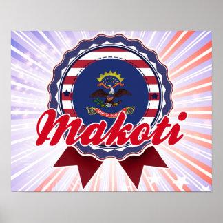 Makoti, ND Print