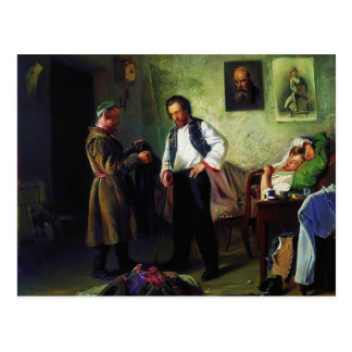 Makovsky-Artista de Vladimir que vende la materia Postal