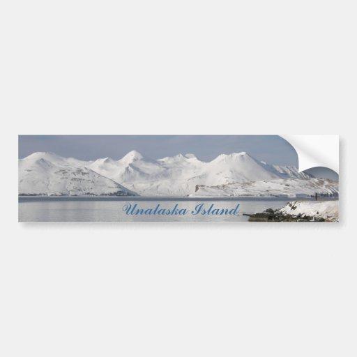 Makushin Mountains in Winter Bumper Sticker