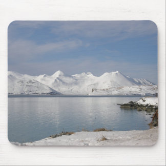 Makushin Mountains in Winter Mouse Pad
