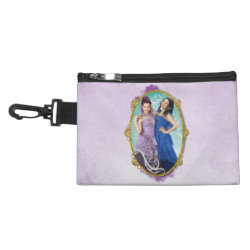 Clip On Accessory Bag with Descendants Mal and Evie Together design