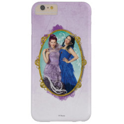 Case-Mate Barely There iPhone 6 Plus Case with Descendants Mal and Evie Together design