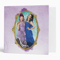 Avery Signature 1' Binder with Descendants Mal and Evie Together design