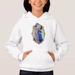 Men's American Apparel Organic T-Shirt with Descendants Mal and Evie Together design