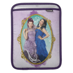 iPad Sleeve with Descendants Mal and Evie Together design