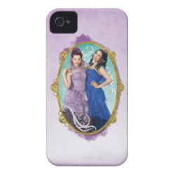 Case-Mate iPhone 4 Barely There Universal Case with Descendants Mal and Evie Together design
