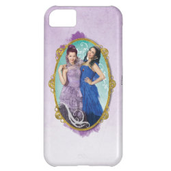 Case-Mate Barely There iPhone 5C Case with Descendants Mal and Evie Together design