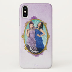 Case-Mate Barely There iPhone X Case with Descendants Mal and Evie Together design