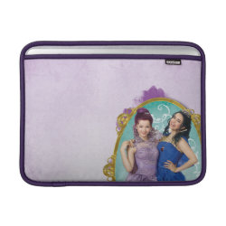 Macbook Air Sleeve with Descendants Mal and Evie Together design