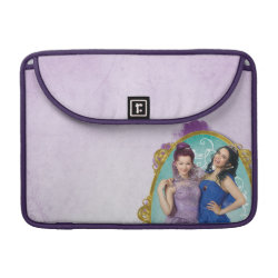 Macbook Pro 13' Flap Sleeve with Descendants Mal and Evie Together design