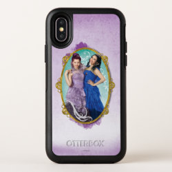 OtterBox Apple iPhone X Symmetry Case with Descendants Mal and Evie Together design