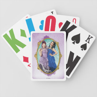 Mal and Evie Bicycle Playing Cards