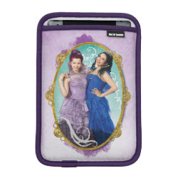 iPad Mini Sleeve with Descendants Mal and Evie Together design