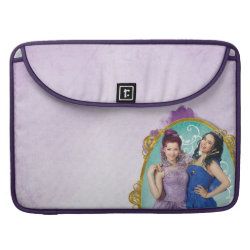 Macbook Pro 15' Flap Sleeve with Descendants Mal and Evie Together design
