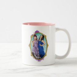 Two-Tone Mug with Descendants Mal and Evie Together design