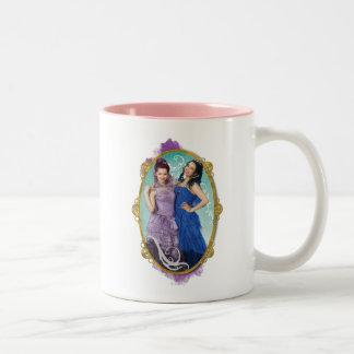 Mal and Evie Two-Tone Coffee Mug