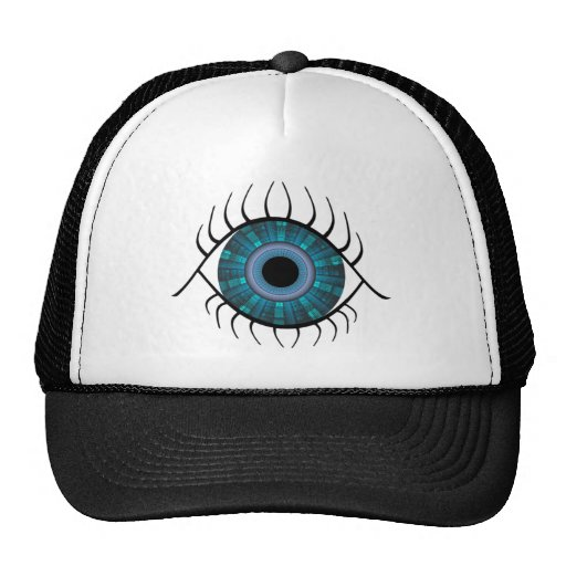 Mal de ojo gorros bordados