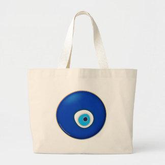Mal de ojo, símbolo de la protección bolsas lienzo