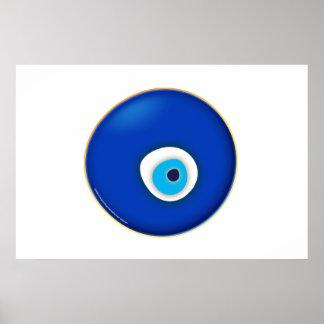 Mal de ojo, símbolo de la protección impresiones