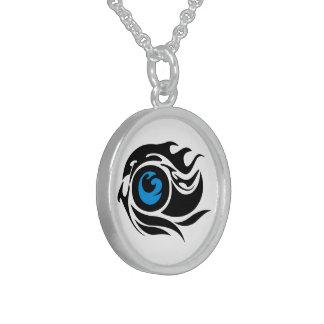 Mal de ojo tribal collares de plata esterlina