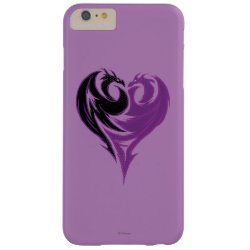 Case-Mate Barely There iPhone 6 Plus Case with Mal Dragon Heart Logo design