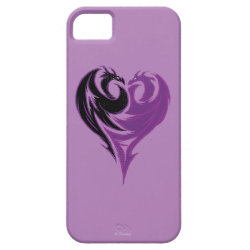 Case-Mate Vibe iPhone 5 Case with Mal Dragon Heart Logo design