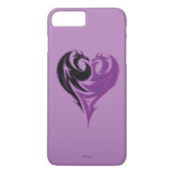Case-Mate Tough iPhone 7 Plus Case with Mal Dragon Heart Logo design