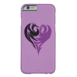 Case-Mate Barely There iPhone 6 Case with Mal Dragon Heart Logo design