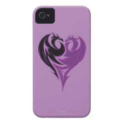 Case-Mate iPhone 4 Barely There Universal Case with Mal Dragon Heart Logo design