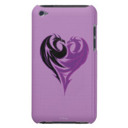 Case-Mate iPod Touch Barely There Case with Mal Dragon Heart Logo design