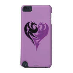 Case-Mate Barely There 5th Generation iPod Touch Case with Mal Dragon Heart Logo design