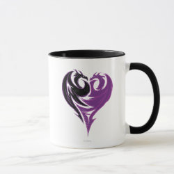 Combo Mug with Mal Dragon Heart Logo design