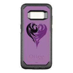 Mal Dragon Heart Logo OtterBox Commuter Samsung Galaxy S8 Case