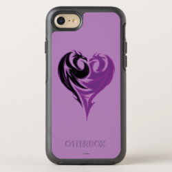 OtterBox Apple iPhone 7 Symmetry Case with Mal Dragon Heart Logo design