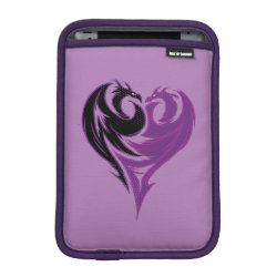 iPad Mini Sleeve with Mal Dragon Heart Logo design