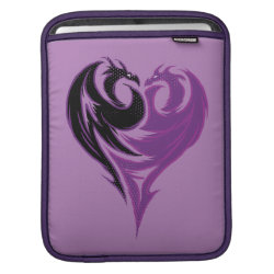 Mal Dragon Heart Logo iPad Sleeve