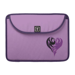Macbook Pro 13' Flap Sleeve with Mal Dragon Heart Logo design