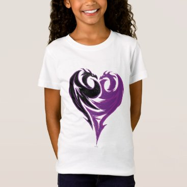 Valentines Themed Mal Dragon Heart T-Shirt