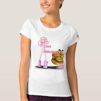 MAL GIRL I LOVE PANCAKE T-SHIRT