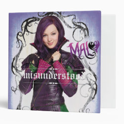 Avery Signature 1' Binder with Descendants Mal: Misunderstood design