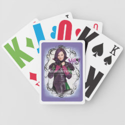 Descendants Mal: Misunderstood Playing Cards