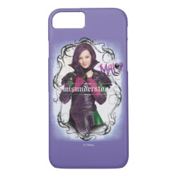 Case-Mate Barely There iPhone 7 Case with Descendants Mal: Misunderstood design