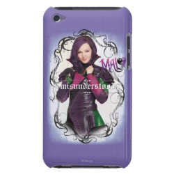 Case-Mate iPod Touch Barely There Case with Descendants Mal: Misunderstood design